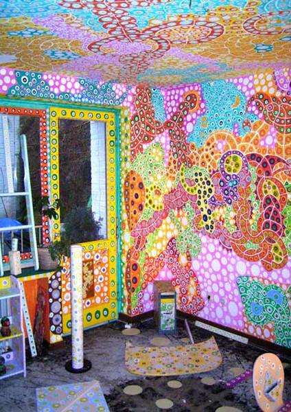 Alleins, Wandmalerei, Design, Malerei, Mode, Acrylmalerei