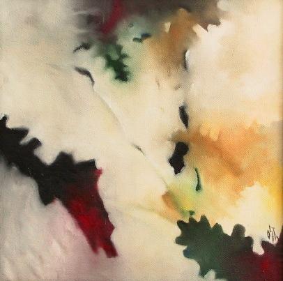 Malerei, Ölmalerei, Abstrakt, Nass