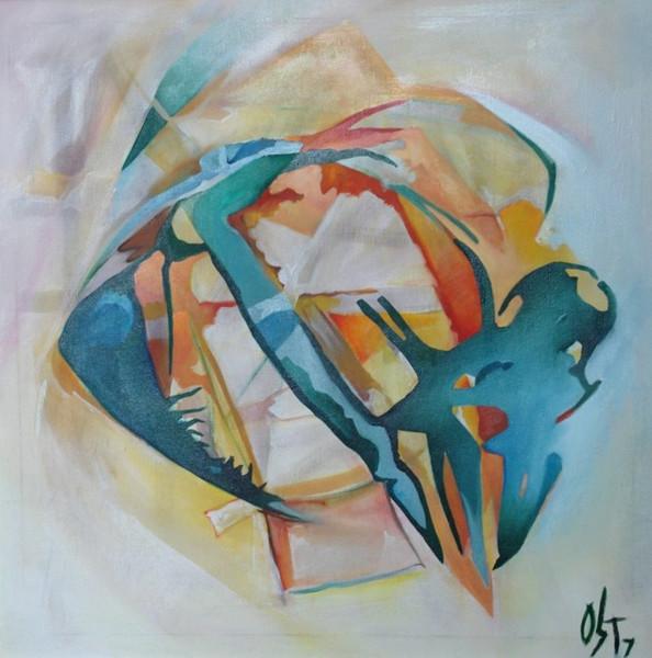 Abstrakt, Ölmalerei, Malerei