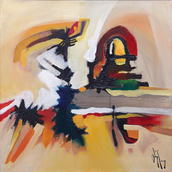 Abstrakt, Malerei, Ölmalerei, Dom