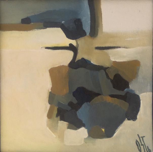 Ölmalerei, Hopfen, Abstrakt, Malerei
