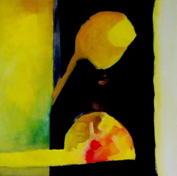 Ölmalerei, Malerei, Abstrakt, Requiem