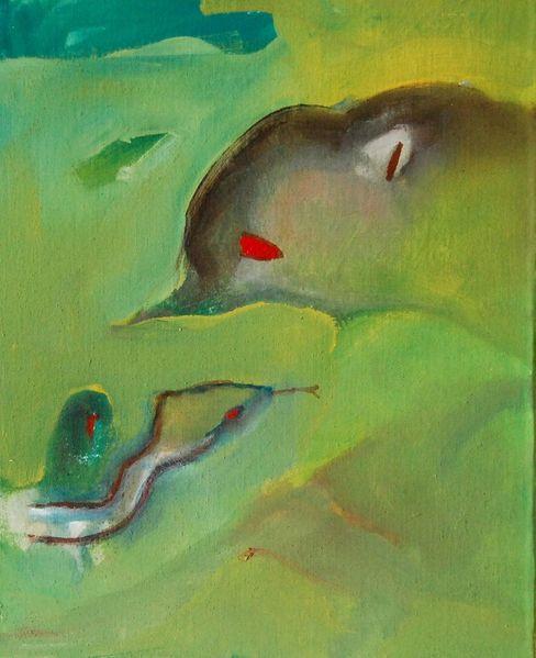 Roth, Gras, Expressionismus, Schwach, Brief, Malerei