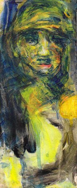 Gelb, Menschen, Nonsens, Malerei