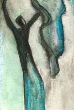 Figural, Malerei, Menschen