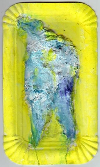 Sommer, Brot, Capri, Gelb, Malerei