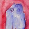 Menschen, Rot, Malerei