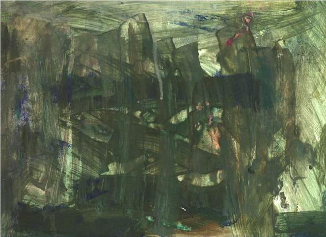 Abstrakt, Balken, Landschaft, Dionysos, Dunkel, Surreal