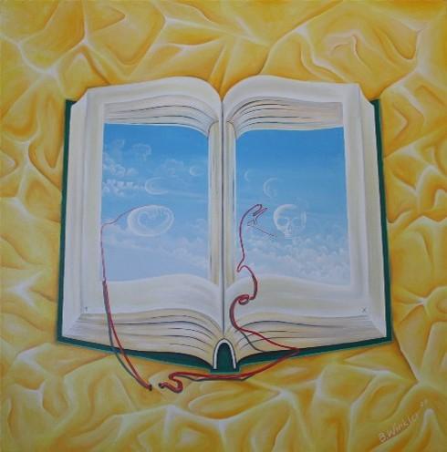 Figural, Leitfaden, Leben, Malerei, Buch, Geburt