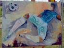 Fußball, Dresden, Fanfestival, Malerei