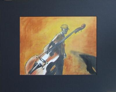 Malerei, Bassist