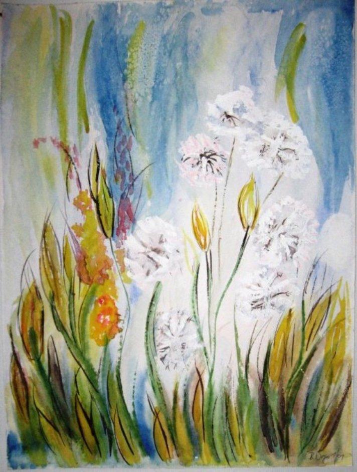 Bild pusteblumen blumen geschenk dekoration von b for Pusteblume dekoration