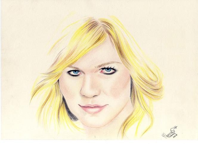 Zeichnung, Portrait, Zeichnungen, Dunst,