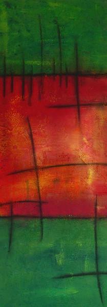 Malerei, Abstrakt, Kopf, Frühling