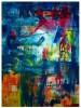 Abstrakt, Acrylmalerei, Malerei, Plexiglas