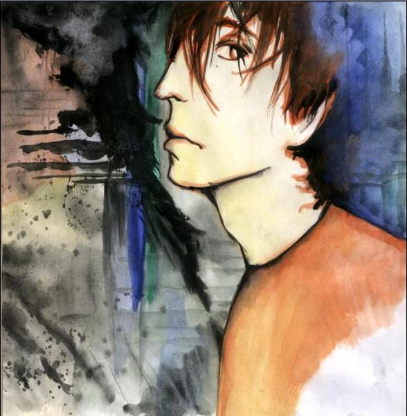 Zoll, Reznor, Nagel, Zeichnung, Portrait, Skizze