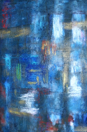 Malerei, Abstrakt, Modern, Paradies,