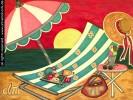 Stillleben, Urlaub, Gemälde, Lifestyle