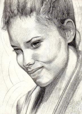 Gesicht, Portrait, Frau, Adriana lima portrait, Zeichnung, Bleistiftzeichnung