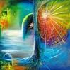 Fantasie, Acrylmalerei, Illustration, Malerei