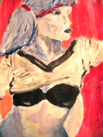Figural, Frau, Malerei, Menschen