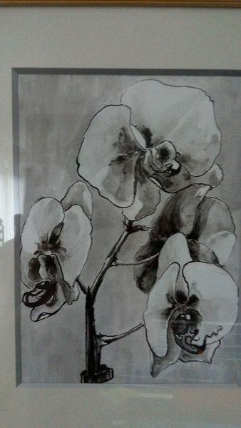 platzangst schwarz wei rahmen zeichnungen von grischa bei kunstnet. Black Bedroom Furniture Sets. Home Design Ideas
