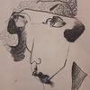 Blick, Frau, Hut, Zeichnungen