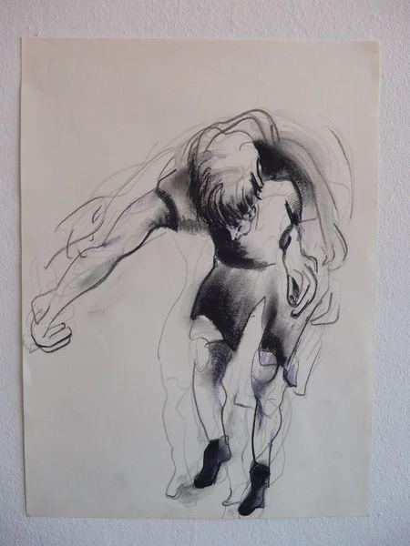 Bewegung, Tanz, Schritt, Zeichnungen