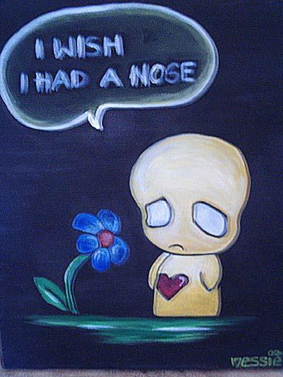 Blumen, Malerei, Acrylmalerei, Gelb, Trauer, Pflanzen