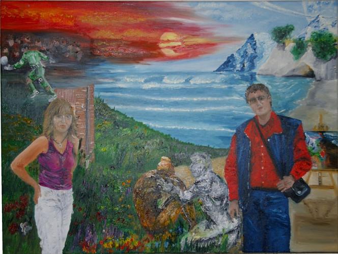 Freundschaft, Malerei