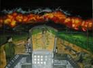 Vitnam, Malerei, Figural, Krieg