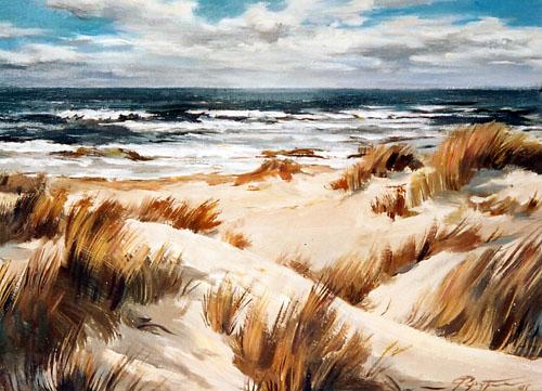 Landschaft, Malerei, Sylt