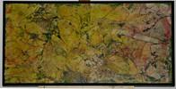 Gelb, Grün, Schwarz, Malerei