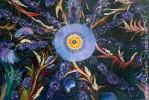Acrylmalerei, Malerei, Fantasie, Blau