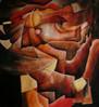 Malerei, Abstrakt, Planet, Fremde