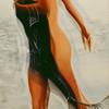 Meer, Ölmalerei, Frau, Akt