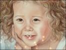 Portrait, Kinderportrait, Zeichnung, Porträtmalerei