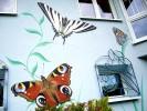 Wandgestaltung, Wandmalerei, Fassade