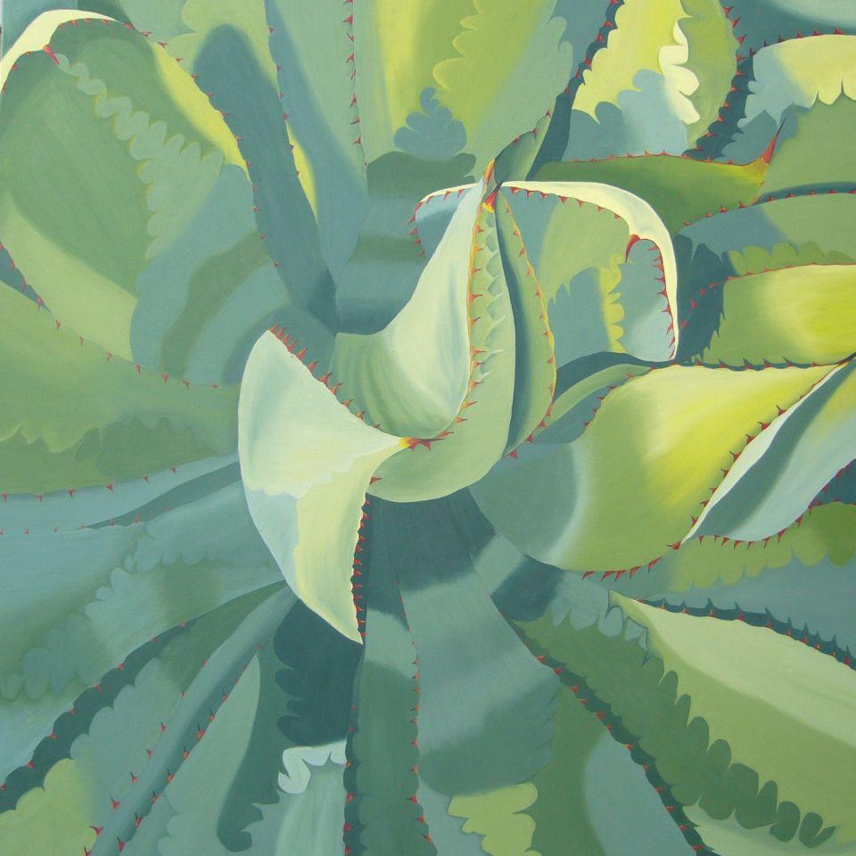 bild garten natur pflanzen realismus von claudia unterleitner bei kunstnet. Black Bedroom Furniture Sets. Home Design Ideas