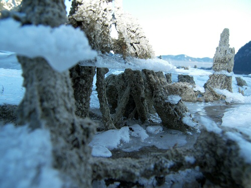 Österreich, Fotografie, Eis, Achensee, Landschaft, Schnee