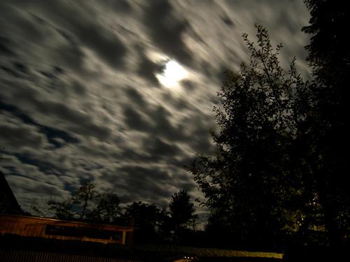 Düster, Mysteriös, Mond, Vollmond, Fotografie, Licht