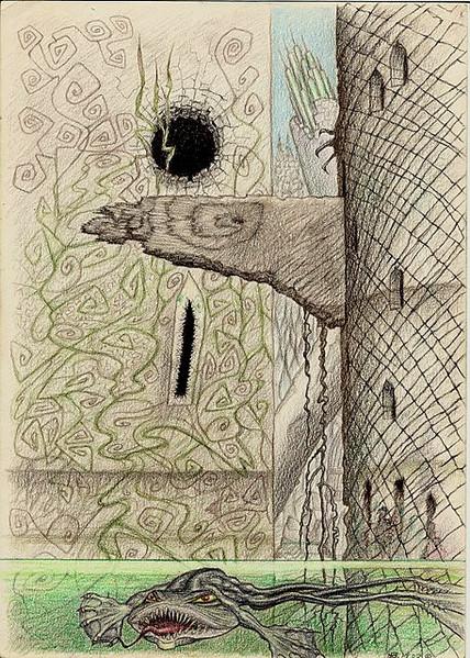 Psychedelisch, Zeichnungen, Welt,