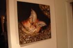 Frosch, Fledermaus, Malerei,
