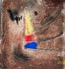Marmormehl, Informel, Pigmente, Acrylmalerei