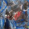 Pigmente, Struktur, Abstrakt, Marmormehl