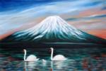 Japan, Fujin, Malerei,