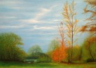 Malerei, Landschaft, Bad