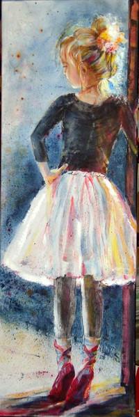 Mädchen, Zauber, Skizze, Zeichnung, Licht, Ballerina