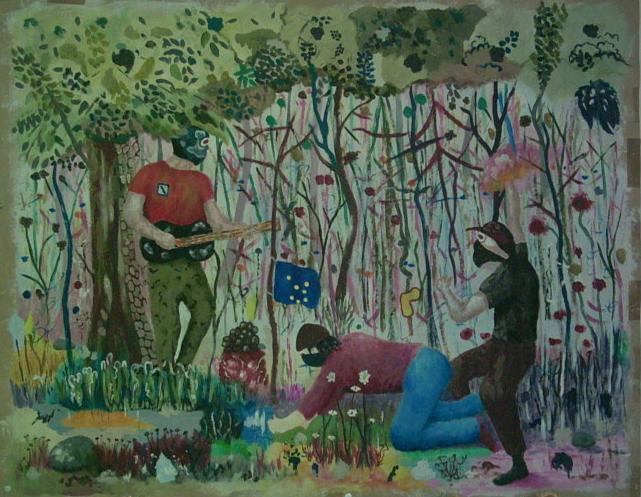 Streetart, Malerei, Europa