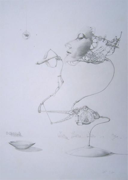 Grafik, Weiblich, Zeichnung, Surreal, Verspielen, Zeichnungen